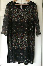 Ladies Black Knee Length Dress