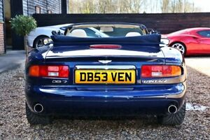 DB 53VEN, DB7, ASTON, DB, SEVEN, Cherished Number, Private Reg Plate, Investment