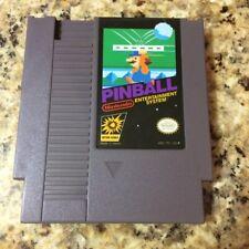 Pinball (Nintendo Entertainment System 1985) NES Game Cart Tested