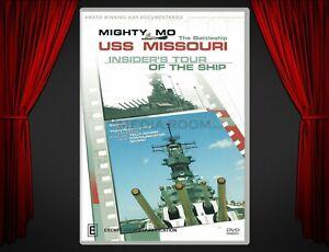 DVD Documentary   USS Missouri: Insider's Tour Of The Ship (2002)   Mighty Mo