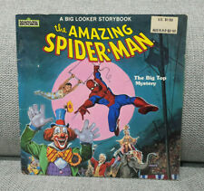 A Big Looker Storybook - The Amazing Spider-Man The Big Top Mystery Vintage 1986
