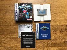 Metroid Fusion (Nintendo Game Boy Advance, 2002) OVP Nintendo