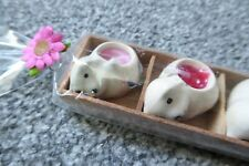 Set of 5 mini cat shaped mini scented candles
