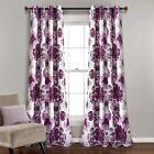 New+Pair+of+Purple+Lush+Decor+Room+Darkening+Window+Curtain+Panel+Pair%2C+95%22+L%2C+