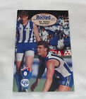 1993 AFL Football Record St Kilda Saints V Carlton Blues Vol.82 No.5
