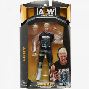 Cody Rhodes AEW unrivaled Series 4 Action Figure - Brand NEW In Stock Now