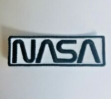 NASA LOGO ☆ SPACE ASTRONAUT SCI-FI Iron On Patch /Badge Budget Costume.FAST SHIP
