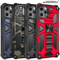For iPhone 12 Mini 11 Pro X XS Max XR Case Heavy Duty Shockproof Kickstand Cover