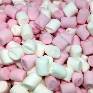 Haribo Minis Pink & White Marshmallows Chamallows Candy Sweets Christmas Present