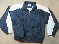 Track Jacket Augusta Made in USA Vintage 90s Pullover Windbreaker