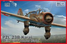 PZL 23 B KARAS LIGHT BOMBER (POLISH AF MARKINGS 1939)  #506  1/72 IBG BRAND NEW