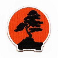 Karate Bonsai Dojo Logo Embroidered Iron On Patch