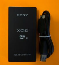 Genuine Sony MRW-E90 XQD SD Card Reader with USB Cable