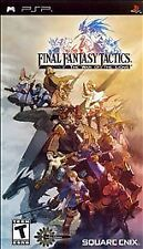 Final Fantasy Tactics: The War Of The Lions  PSP Game Complete