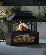 Gardenline Large Outdoor Log Burner 🔥 BRAND NEW ✅ FREE NEXT DAY DELIVERY🚚
