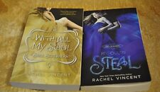 Rachel Vincent Soul Screamers Set/2: With All My Soul to Steal  PB
