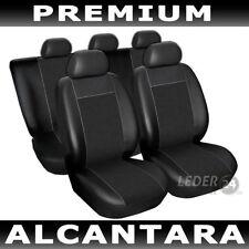 Sitzbezüge Schonbezüge Kunstleder schwarz OPEL Astra F/G/H/ Vectra B C D