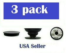 THREE Pack Pop Out Socket Mobile Phone Universal Finger Grip Stand Holder USA