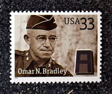 2000USA #3395 33c Distinguished Soldiers - Omar N. Bradley  single - Mint  NH