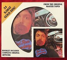Paul McCartney And Wings - Red Rose Speedway - DCC - 24Kt Gold CD /Beatles/