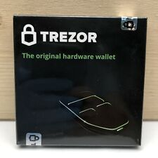 Trezor Hardware Wallet Vault Safe For Digital Virtual Currency Cryptocurrency