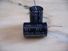 Condensatore elettrolitico Elna 2200 microfarad 63 volt