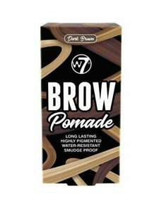 W7 Brow Pomade with double sided Brow Brush (4 Shades)