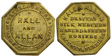 *CCC* England. Hall and Allan. Brass Token