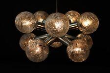 Alte Hängelampe E14 Deckenlampe Kugellampe Glas Kult Retro Design 40 Watt