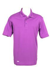 Men's Purple Polo Short Sleeve Golf T-Shirt