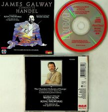 JAMES GALWAY- Conducts Handel Water Music/Royal Fireworks CD (JAPAN RCA 1985)