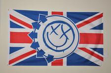 Blink 182 Union Jack RARE - British - Mint - Poster - Banner - UK - WOW