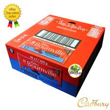🍫 full box Cadbury Bournville vieux Jamaïque 18 x 100 g Rhum Raisin barres de c...