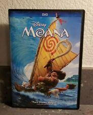 Authentic Disney: Moana  (DVD 2017) Free Shipping Previously Viewed  Like New