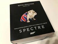 "Royal Doulton Spectre Bulldog ""Jack"" James Bond DD007M"