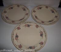 "Mikasa PROVENCAL Fine Ivory Salad Plate 8""  Blue / Lavender Floral Border"