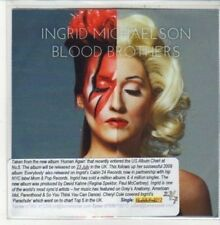 (DD970) Ingrid Michaelson, Blood Brothers - 2011 DJ CD