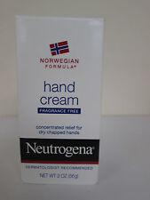 Neutrogena Hand Cream, Fragrance Fee - 2 oz