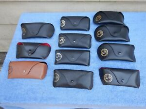 Ray Ban Sunglasses Cases Case Lot of 11 Cases Eyeglass