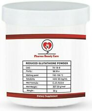 30 Grams L-Glutathione Powder 98% Reduced Form antioxidant CAS:70-18-8