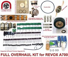 REVOX A700 COMPREHENSIVE 'FULL MONTY' OVERHAUL KIT - electronic & mechanical