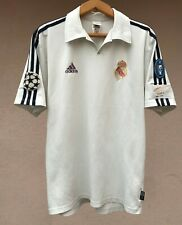 REAL MADRID 2001/2002 HOME FOOTBALL SOCCER SHIRT JERSEY CAMISETA ADIDAS MAGLIA