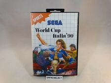 WORLD CUP ITALIA '90 MONDIALI 1990 SEGA MASTER SYSTEM PAL EUR ITALIANO COMPLETO