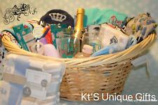 Baby Boy Shower Basket Gift