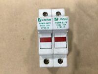 Littlefuse Powr-Safe LPSC-ID Fuse Holder 600V 30A 2 Pole #009E11