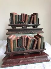 Pair Heavy Cast Iron Judd Shakespeare Rare Antique Bookends 1920's - 30's