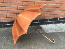 Vintage Carless Paragon S Fox & Co Ladies Parasol Hawthorn Handle Peach