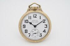 Hamilton 992B Railroad Grade Pocket Watch in Model 17 Case w/ Great Dial