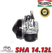 R1515 CARBURATORE DELL'ORTO SHA 14.12 L PER CICLOMOTORI MINI CROSS MINI QUAD 50C