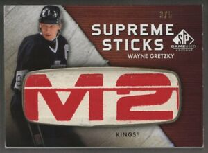 2010-11 SP Game Used Edition Supreme Sticks Wayne Gretzky Stick Patch 3/5